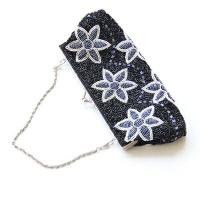 手提包釘珠晚宴包-精緻優雅花朵時尚女包包4色73sn18【獨家進口】【米蘭精品】