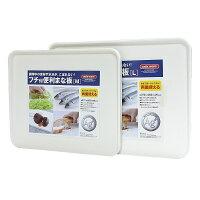 日本製造ASVEL奈米銀抗菌斜面砧板(M+L)2入特惠組 0