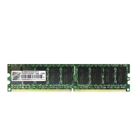 *╯新風尚潮流╭*創見伺服器記憶體 2g ECC DDR2-667 終保 TS256MLQ72V6U