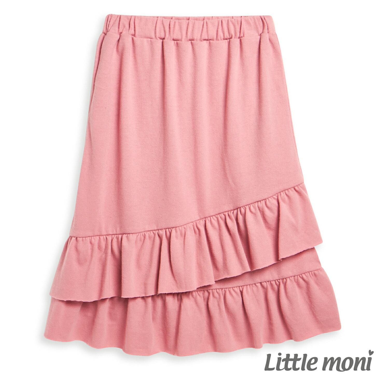 Little moni 荷葉魚尾裙-熱情粉(好窩生活節) 1