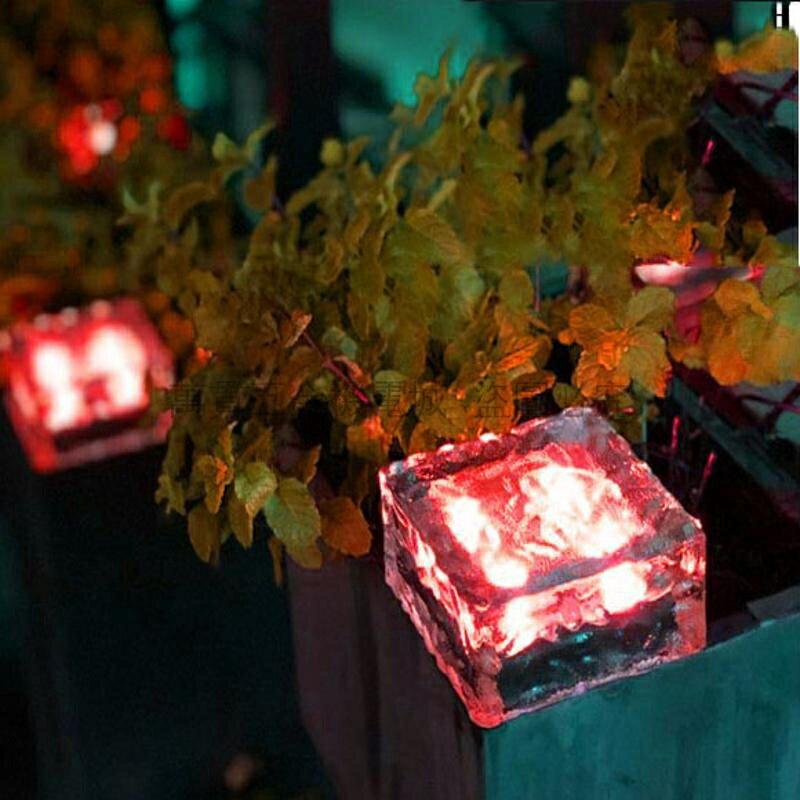 熱銷新品 【2020新品】太陽能地埋燈 戶外防水庭院燈 家用花園草坪裝飾地燈 陽臺佈置景觀燈 4LED燈