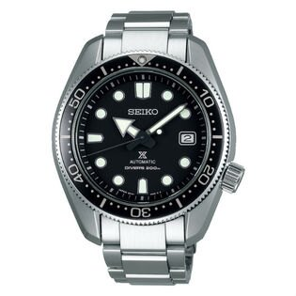 Seiko精工錶Prospex6R15-04G0D(SPB077J1)DIVERSCUBA潛水機械腕錶黑面44mm