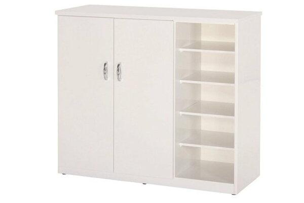 【石川家居】859-04白色鞋櫃(CT-317)#訂製預購款式#環保塑鋼P無毒防霉易清潔