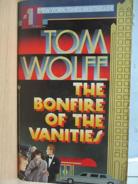 ~書寶 書T8/原文小說_KSR~The Bonfire of the Vanities