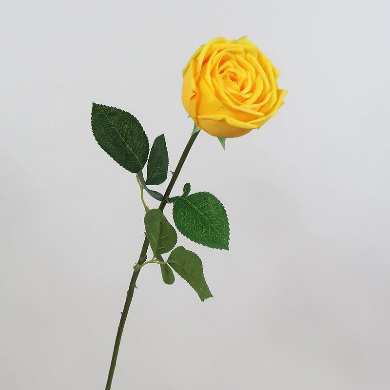 高品質手感保濕玫瑰花桌花裝飾室內陳列婚慶