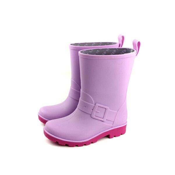 nativeBARNETT雨鞋雨靴防水粉紫色小童童鞋33106100-5333no778