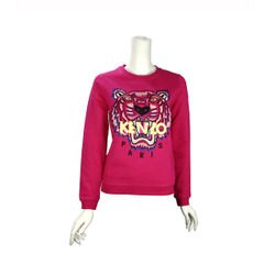 【KENZO】虎頭長袖上衣(桃紅色) 2SW7054XC 26