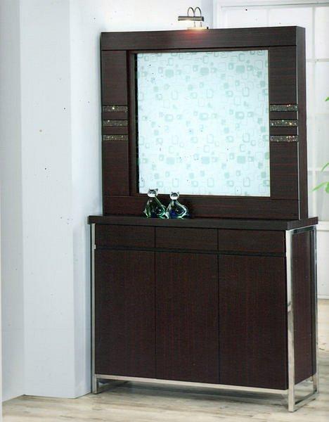 【尚品傢俱】429-05 尤納絲 精典水鑽屏風櫃/雙面櫃/展示櫃/收納櫃