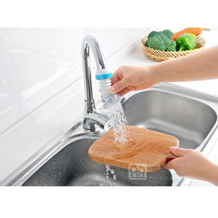 【嚴選SHOP】水龍頭花灑 360度可旋轉可伸縮無死角 節水 塑料軟管 自來水過濾嘴 廚房防濺水 【L007】