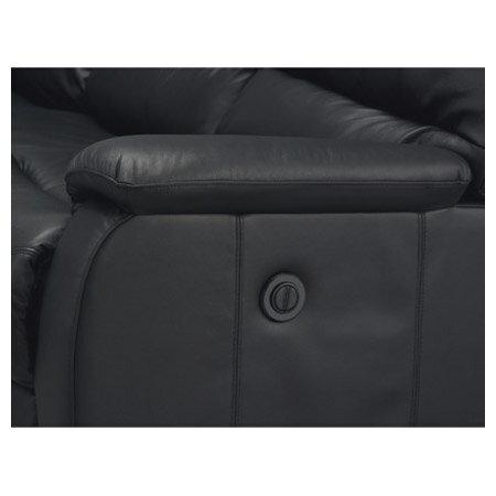 ◎全皮3人用頂級電動可躺沙發 BELIEVER2 BK NITORI宜得利家居 7