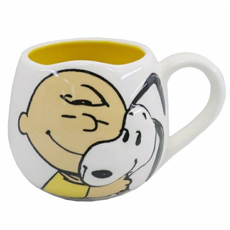 又敗家@MC立體史努比馬克杯250ml查理布朗SNOOPY茶杯SPY-771(瓷製)圓頭小子史奴比杯子適聖誕生日交換禮物