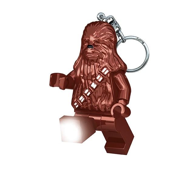 《 樂高積木 LEGO 》星際大戰 STAR WARS LED 燈鑰匙圈 - 秋巴卡