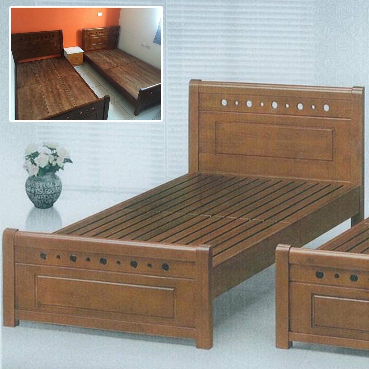 【石川家居】DA-11單人3.5尺實木床架 另有雙人5尺 雙人加大6尺 卡榫式 民宿可用 耐用 全實木