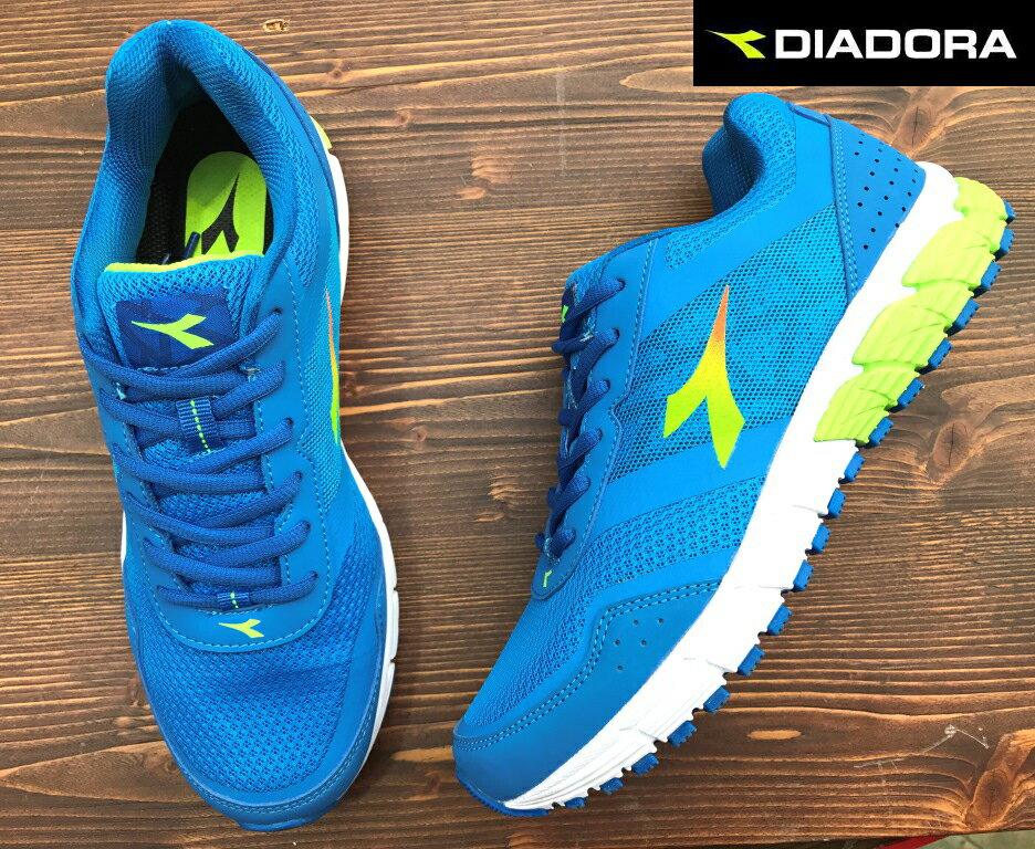 【剪標品出清-26號】義大利國寶鞋-DIADORA迪亞多納 男款寬楦超輕量運動慢跑鞋