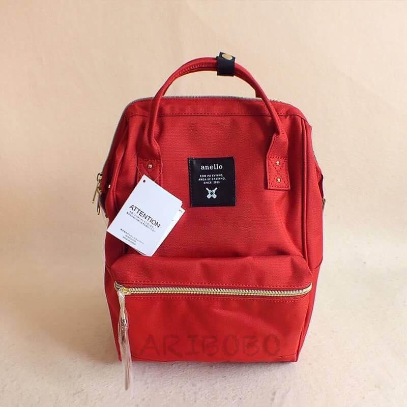 【日本anello】ANELLO 雙肩後背包 《大號》- 紅色 0