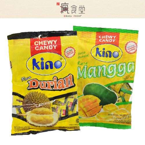 【芒果季】印尼軟糖 KINO 軟糖榴槤軟糖 芒果軟糖105g