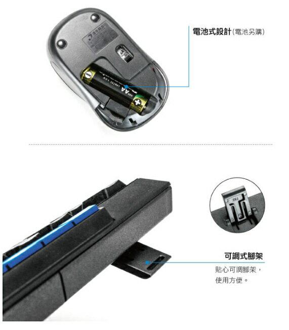 無限鍵盤滑鼠 耐嘉 KINYO GKBM-881 2.4GHz無線鍵盤鍵鼠組 鍵盤 滑鼠 電腦周邊 無線 2