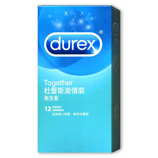 杜蕾斯衛生套-激情裝(12入)