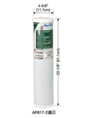 3M 全戶式不鏽鋼淨水系統 SS802 專用替換濾心 AP817-2