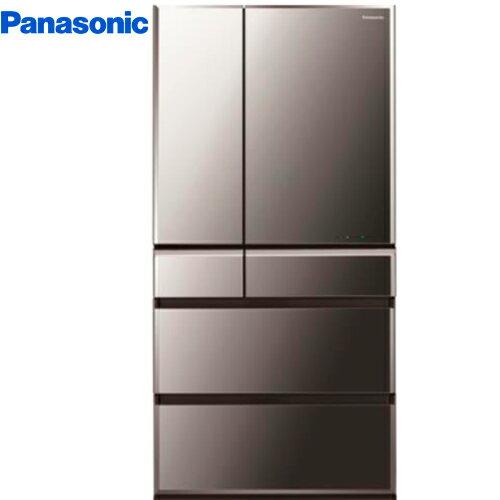 Panasonic 國際 NR-F672WX-X1 日本製冰箱 665L 六門 鑽石黑 無邊框