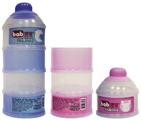 培寶 大容量奶粉盒(藍/粉)【德芳保健藥妝】