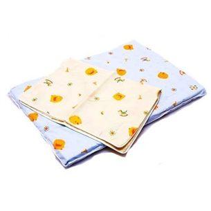 黃色小鴨 幼兒乳膠趴睡枕+枕套1入【德芳保健藥妝】