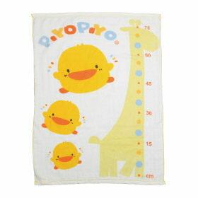 黃色小鴨 長方形雙層紗布浴巾【德芳保健藥妝】