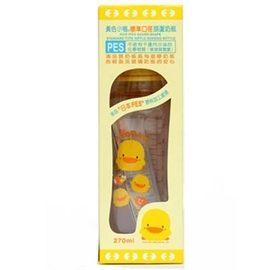 黃色小鴨 寬口徑PES葫蘆奶瓶 300ml【德芳保健藥妝】
