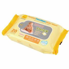 德芳保健藥妝:黃色小鴨嬰兒柔濕紙巾20抽【德芳保健藥妝】