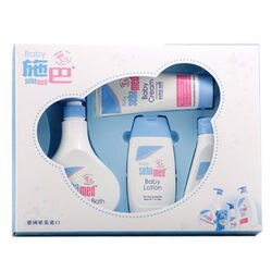 Sebamed施巴 粉藍熊語禮盒(大4件禮盒)【德芳保健藥妝】
