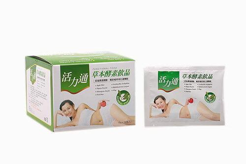 三帆 活力通草本酵素飲品 15g*3包入*4盒【德芳保健藥妝】