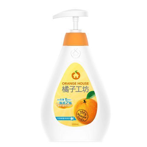橘子工坊 去油碗盤洗滌液 500ml【德芳保健藥妝】