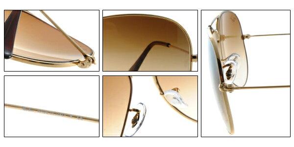 Ray Ban 雷朋 金邊棕鏡 太陽眼鏡 RB3025 7