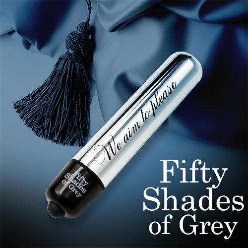 ◤跳蛋情趣跳蛋◥Fifty Shades Of Grey 格雷的五十道陰影 強勁 金屬子彈造型 震動按摩棒 FS40167  【SM調情道具 情趣用品 】