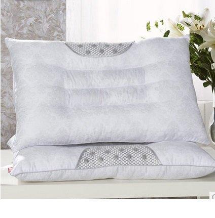 枕芯頸椎枕 決明子枕頭 護頸磁療單人枕芯 2個組