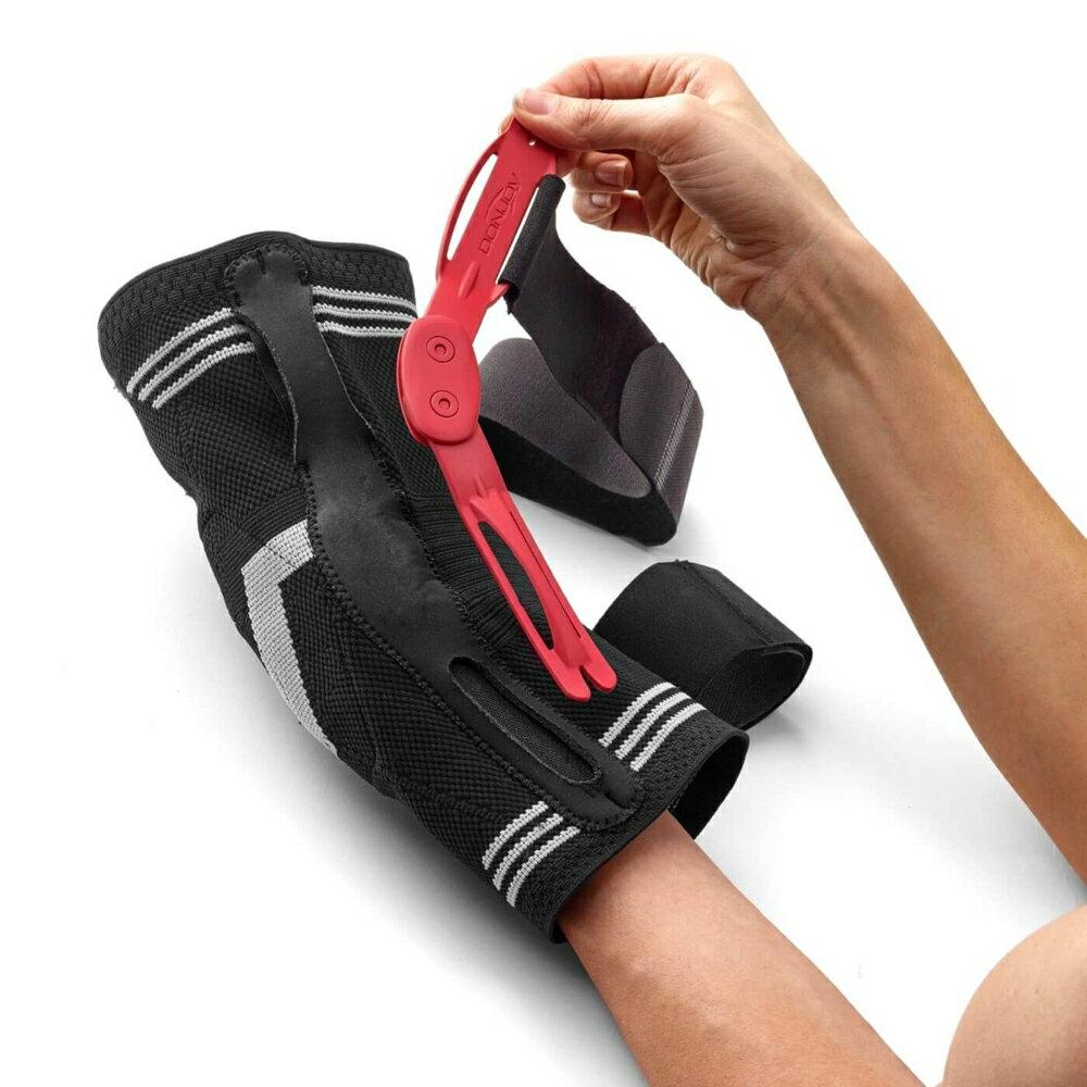 調整型彈力加強護膝(鉸鍊)【美國DONJOY】護膝 護具 下肢 骨科 膝關節 復健用品