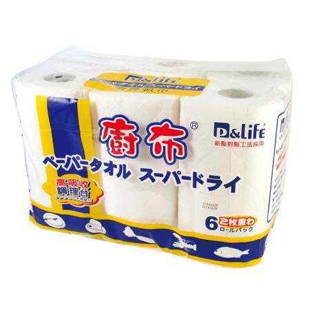 奈芙 高級廚房紙巾 PL-776 60張*6捲