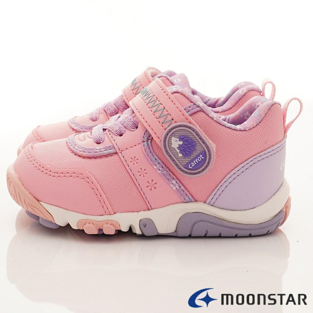 日本Moonstar月星機能童鞋2E穩定款-CRC22754粉(中小童段) 2