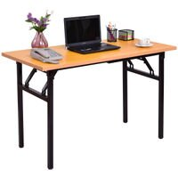 Deals on Costway Folding Computer Desk Pc Laptop Table