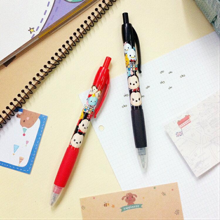 PGS7 日本迪士尼系列商品 - 日本 迪士尼 TSUM TSUM 原子筆 紅筆 黑筆【SHJ7453】