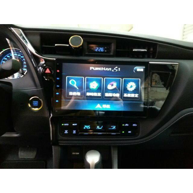 豐田 2017~2018 ALTIS 11.5代安卓版螢幕主機 10吋 WIFI.網路電視.藍芽電話