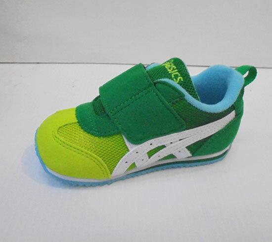 ^~陽光樂活^~ASICS 亞瑟士 綠X萊姆綠 童鞋 IDAHO BABY GR~ES 2