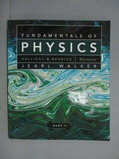 【書寶二手書T1/大學理工醫_XDE】FundamentalsofPhysics,Chapters33-37_PART4_Halliday_9e