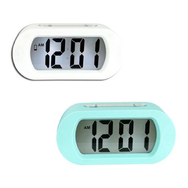 TD-385北歐風LCD電子鐘時鐘鬧鐘掛鐘壁鐘LCD電子鐘【迪特軍】
