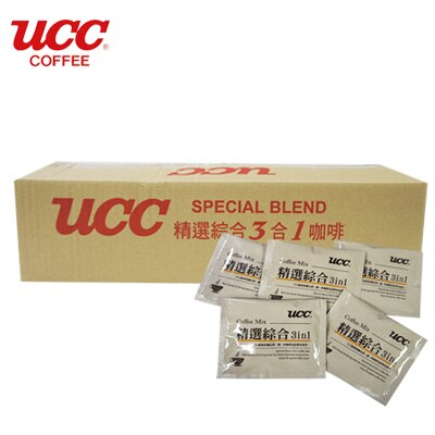 日本【UCC】精選綜合三合一即溶咖啡 隨身包 16g*100包