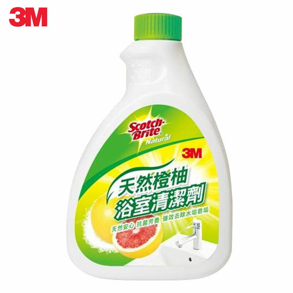 3M 天然橙柚浴室清潔劑補充瓶 500ml