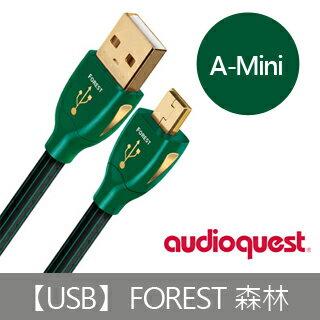 <br/><br/>  【Audioquest】USB Forest 傳輸線 (A-Mini)<br/><br/>