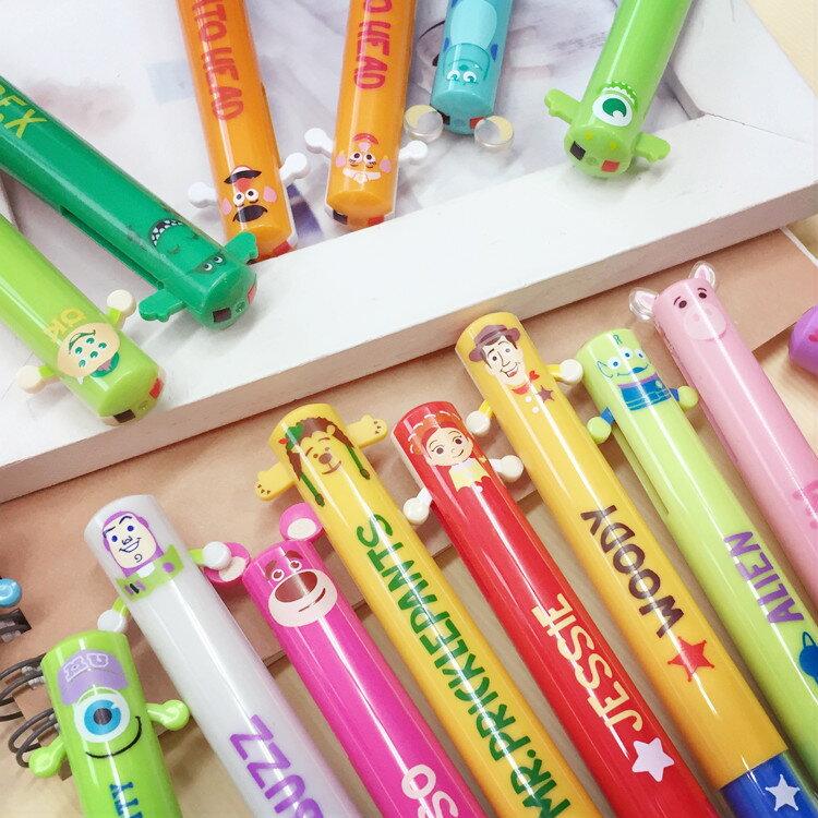 PGS7 日本迪士尼系列商品 - 迪士尼 皮克斯 系列 造型 雙色原子筆 原子筆 雙色筆 筆【SHJ6427】