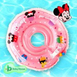 [ Baby House ] Disney 米妮嬰兒游泳脖圈 (學習嬰兒脖圈游泳圈)【愛兒房生活館】