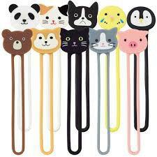 日本 LIHIT LAB. A-7722 可愛動物束繩 收納束帶 磁吸收納帶 綁帶 (附磁鐵)
